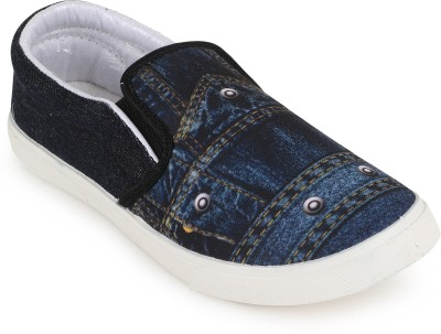 Scantia MD1_B-BLU Loafers(Multicolor)