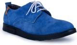 Adam Step Leather Party Wear (Blue)