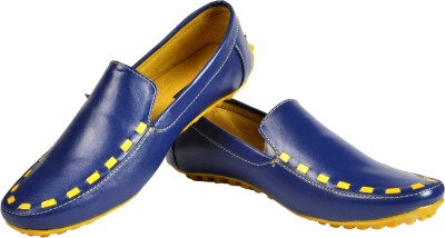 NY Eagle NY Bright Blue Yellow Loafer Casuals
