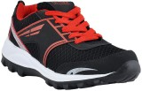Athlio Running Shoes (Black, Red)