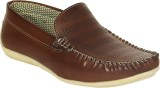 Yellow Tree Loafers (Brown)