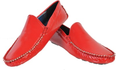 Stylords Patent Red Loafers