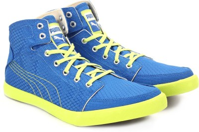 Puma Drongos DP Men High Ankle Sneakers(Blue)