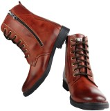 Elvace 5018 Boots (Brown)