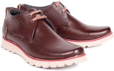 Red Marine Brown Casual Shoes