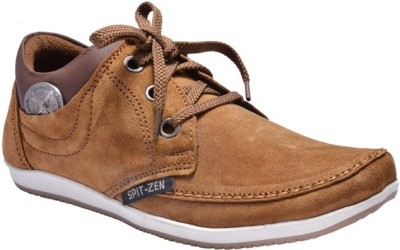 Royal Bronze Spit Zen Casual Shoes