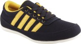Corpus Yellow Canvas Shoes (Black, Yello...