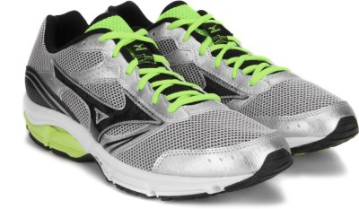 Mizuno WAVE IMPETUS 3 Running Shoes(Black, Silver, Yellow)