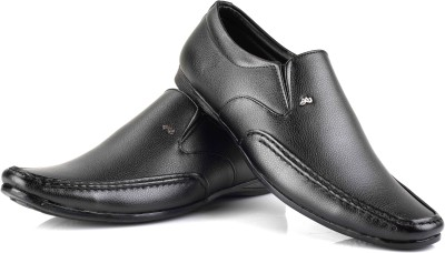 Ferraiolo Leather Slip On Shoes