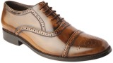 Balujas Lace Up Shoes (Tan)