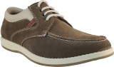 Tanny Shoes Suede Brown Casuals (Brown)