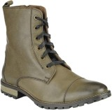 Delize 5056-OLIVE Boots (Olive)