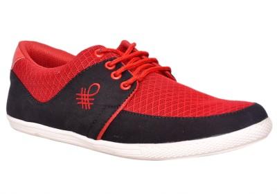 Klinga Men,S Red Casual Shoes