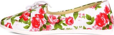 Kiosha Floral Print Mocassin