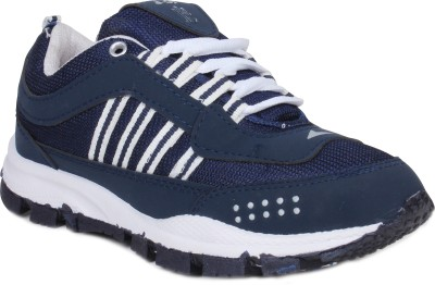 Histeria Champ Blue With White Stripes Running Shoes