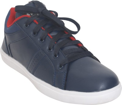 1 WALK Relaxer Comfortable And Classic Sneakers-Navy Blue Sneakers
