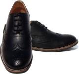 ASM Black Brogue Party Wear Shoes (Black...