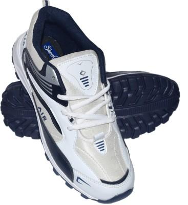 Shoekool Air White Running Shoes