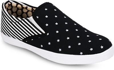 Gisole Starry Slipon Canvas Shoes