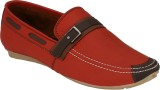 Pureits Leathers Loafers (Red)