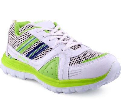 Xtrafit C One White P Green Sports Running Shoes