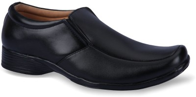 Force Hill 10050 Black Slip On Shoes