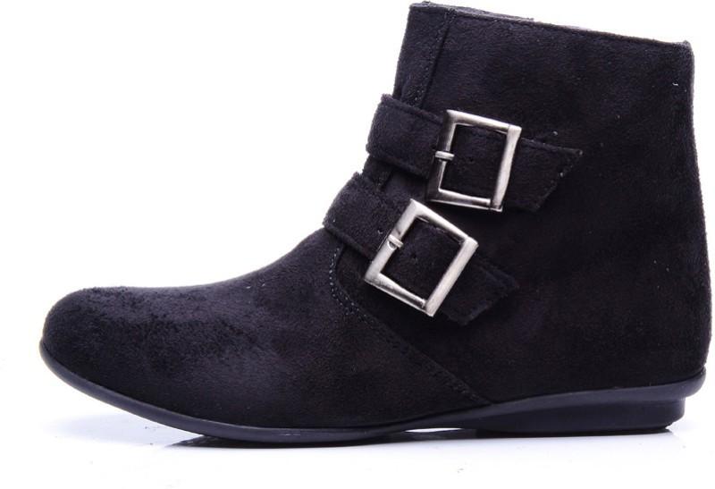 Bruno Manetti Blanca Boots(Black)