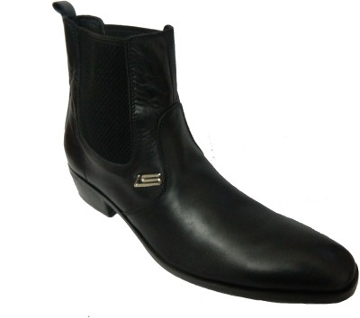 Leather Studio Men,s Boots