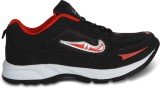Cozy Running Shoes (Black, Red)