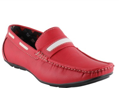 Smart wood 202 RED Loafers