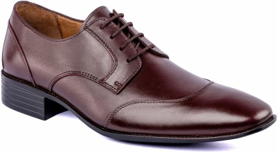 Nudo Brown Formal Lace Up Shoes