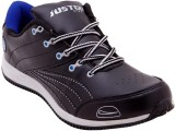 Just Go Men Designer Funky Black Blue Sp...