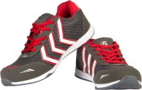 Ros 1070 Grey Red Walking Shoes