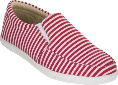 Advin England Red Strips Lifestyle Shoes Sneakers