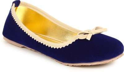 Lovely Chick Lovely Chick Blue Women Casual Ballerinas A18-Blue Casual Shoe