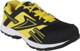 Bostan Running Shoes (Black, Yellow)