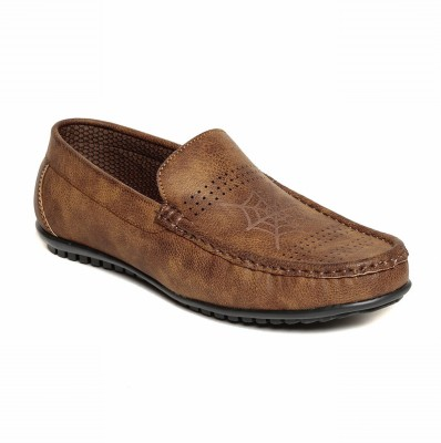 VERDIOZ tan loafers Loafers