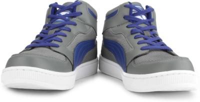 Puma Rebound Mid Lite DP Men High Ankle Sneakers(Grey)