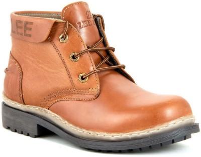 Lee Fog Midas Tan Boots