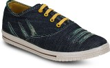 Gisole Kronas Laced Canvas Shoes (Blue)