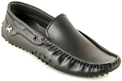 Faces By Devils Tavish Chocolate Brown Loafers