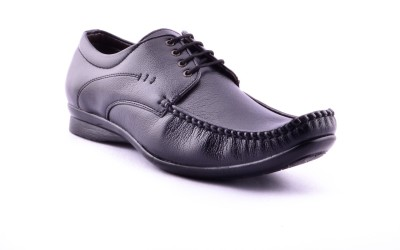 Calaso 2101(FR)Blk Corporate Casual Shoes