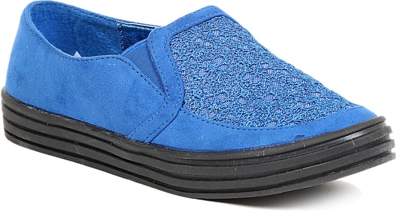 Footash Canvas Shoes(Blue)