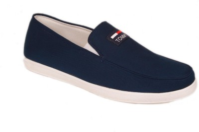 M & M Navy Loafers