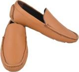 Mori Leather Loafers (Tan)