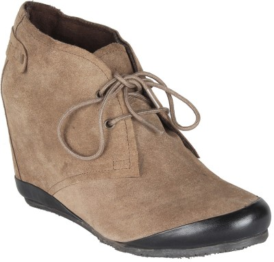 online retailer faabb 480ee Salt N Pepper 11-617 Cynthia Taupe Boots Casual Shoes