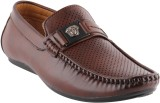 Smart Wood 3502 Brown Loafers Shoe (Brow...