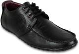 Adreno Lace Up Shoes (Black)