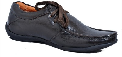 Zoom Zoom Branded Men's Pure Leather Formal Shoes D-2571-Brown-8 Lace Up