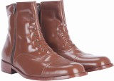 Alden Shoes Police Uniform Boots (Brown)